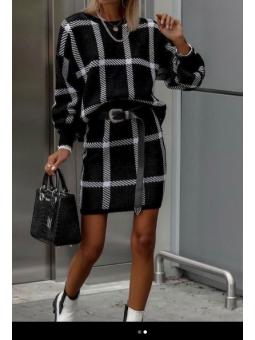 Conjunto Anna Negro suéter...