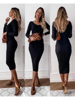 Vestido negro Jimena
