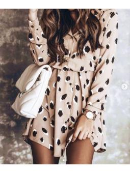 Vestido print camisero (MS10)