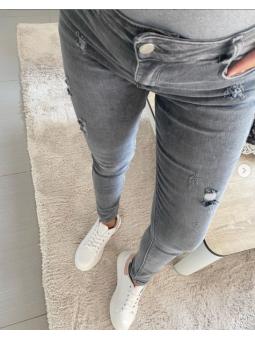 Pantalones tejanos gris SA9098