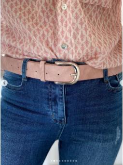 Cinturón básico Rosa...