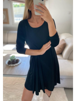 Vestido basic Negro corto