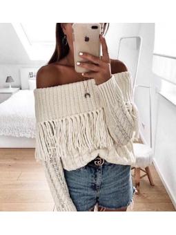 Suéter beige fleoos
