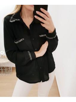 Camisa negra Coco