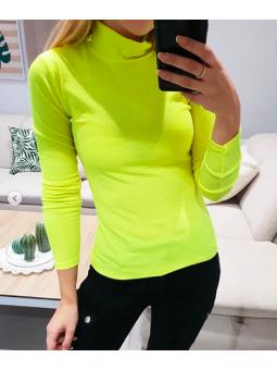 Camiseta flúor amarilla