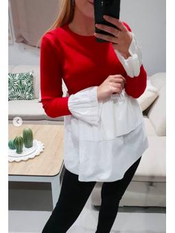Suéter Córdoba rojo