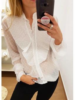Blusa plumeti blanca