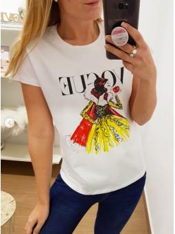 Camiseta Blancanieves