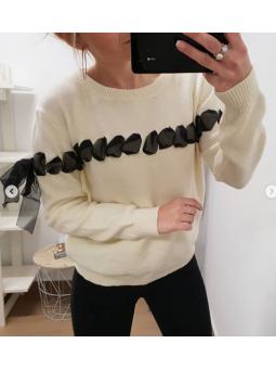 Suéter beige lazada horizontal
