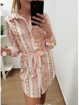 Blusón rosa cadenitas