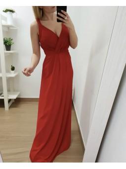 Vestido fiesta rojo...
