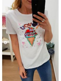 Camiseta helado 3D
