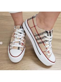 Zapatillas cuadros