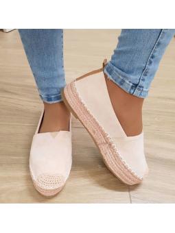 Zapato espardeña rosa (Ref...