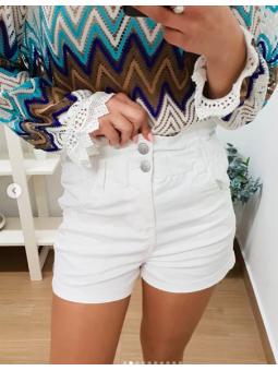 Pantalones cortos blancos...