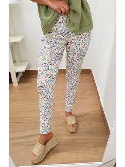 Pantalones flores pequeñitas