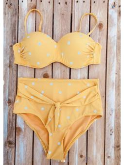 Bikini lunares mosstaza