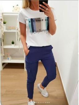 Pantalones azul (Mod 953)