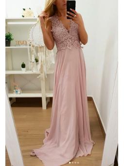 Vestido fiesta Jasmine rosa
