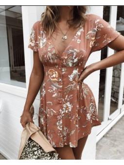 Vestido Bianca marrón