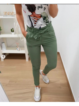 Pantalones verde lazada