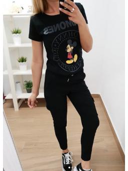Pantalones bolsillos negros