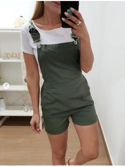 Pichi verde corto + camiseta